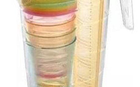 Tescoma Džbán s poháry myDRINK 2,5 l, oranžová