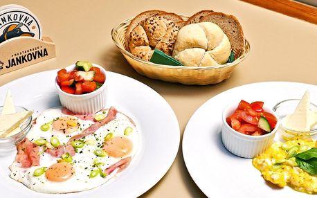 Snídaně na Chodově: sladká či slaná, káva i džus