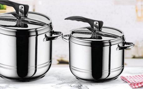 Vařte pod tlakem: papiňáky z nerezové oceli