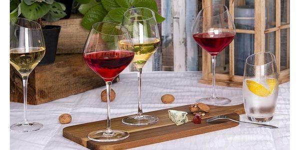 Orion Sklenice na červené víno Exclusive, 6 ks4