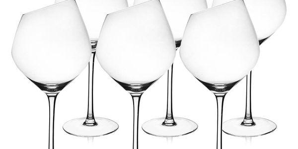 Orion Sklenice na červené víno Exclusive, 6 ks5