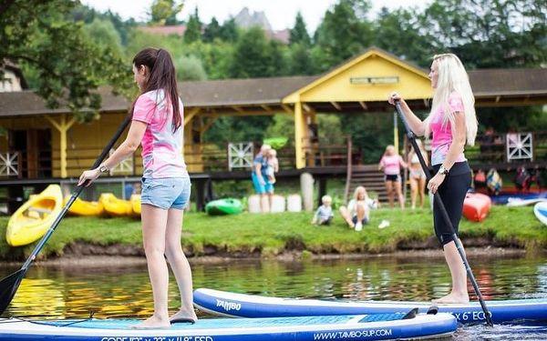 Škola paddleboardingu, 3 hodiny, počet osob: 1 osoba, Malá Skála (Liberecký kraj)2