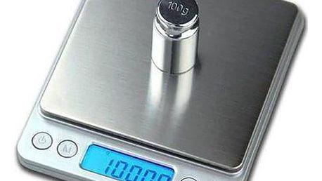 Digitální váha pro vážení s váživostí 3000g/0,1g