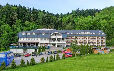 Slovenský ráj v Hotelu Plejsy *** s polopenzí a neomezeným wellness s bazénem + dítě do 12 let zdarma