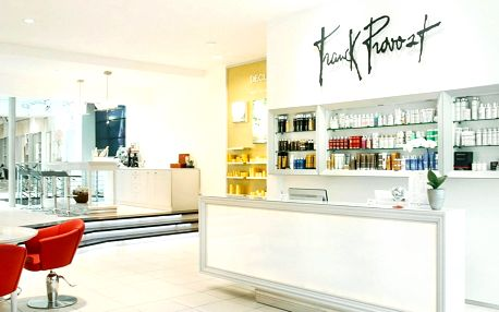 Stříhání i barvení v salonu Franck Provost
