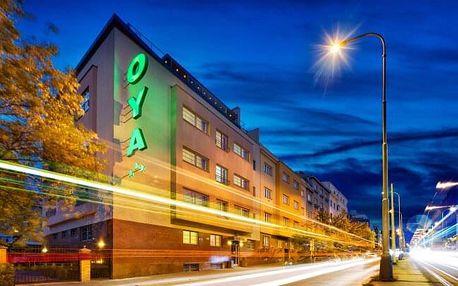 Pobyt přímo v centru Prahy v elegantním Hotelu Oya *** se snídaněmi a vstupem do Zoo či voucherem na večeři