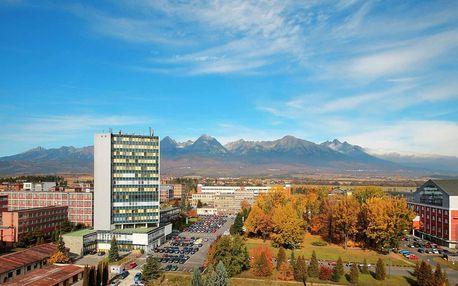 Pobyt v apartmánech s wellness a výhledem na Tatry