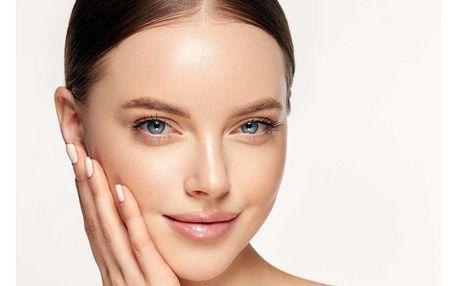 Omlazující kosmetické ošetření včetně úpravy řas a obočí