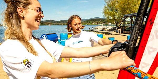 Kurz windsurfingu s Petrem Čechem