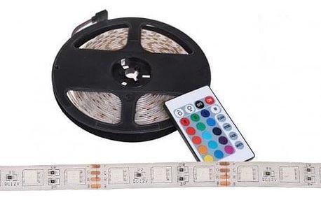 LED pásek s ovladačem 5 metrů – BÍLÁ