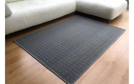 Vopi Kusový koberec Valencia šedá, 60 x 110 cm