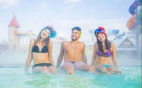 Fantastický pobyt s neomezenými vstupy do Aquaparku Tatralandia! Ubytování přímo v rezortu Holiday Village