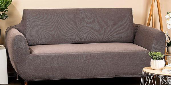 4Home Multielastický potah na dvojkřeslo Comfort šedá, 140 - 180 cm4