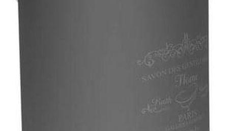 Florina Kosmetický odpadkový koš Sweet Home 3 l, šedá