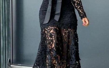 Dámské šaty plus size Armelle