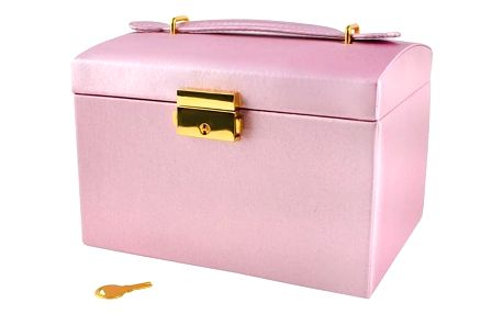ISO 6400 Šperkovnice - růžová