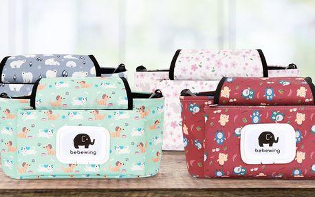Praktické tašky na kočárek v 6 variantách