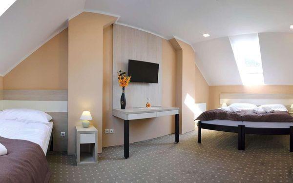 Pobyt v Lázeňském hotelu KUBO *** pro 2 osoby na 2 noci přes týden2