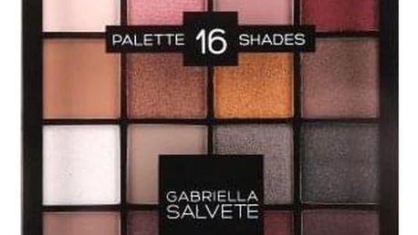 Gabriella Salvete Palette 16 Shades 20,8 g paletka očních stínů pro ženy 02 Pink