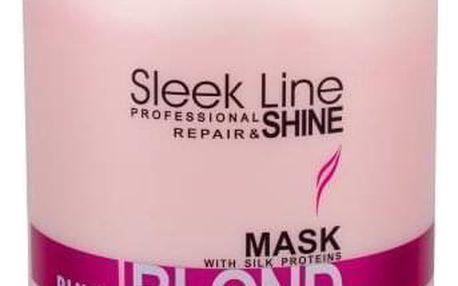 Stapiz Sleek Line Blush Blond 1000 ml maska pro růžový tón vlasů pro ženy