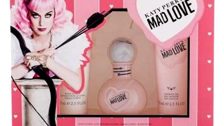 Katy Perry Katy Perry´s Mad Love dárková kazeta pro ženy parfémovaná voda 50 ml + tělové mléko 75 ml + sprchový gel 75 ml