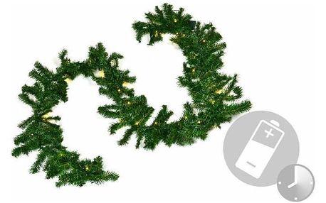 Nexos 29212 Osvětlený vánoční řetěz zkrášlí váš domov v období Vánoc.