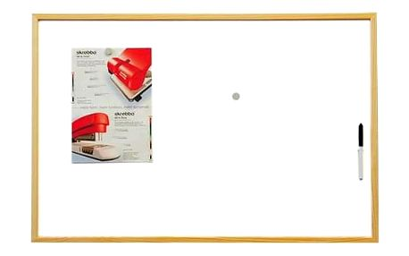 2x3 DI-BSTCO6090W Eco magnetická tabule 90x60 cm