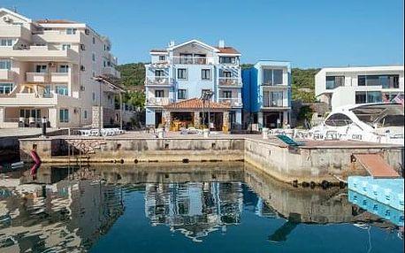 Dovolená přímo u moře v Černé Hoře v Aparthotel Villa Lav se snídaní. doprava vlastní