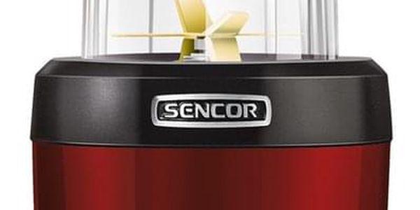 Sencor SNB 4301RD nutri mixér, červená3