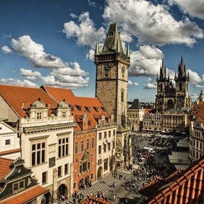 Praha na 2-4 dny, snídaně v ceně