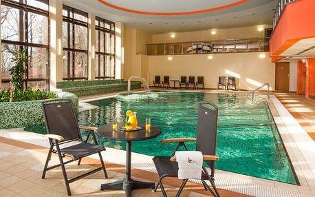 Mariánské Lázně luxusně v Hotelu Excelsior **** s až 16 léčebnými procedurami, neomezeným wellness + polopenze