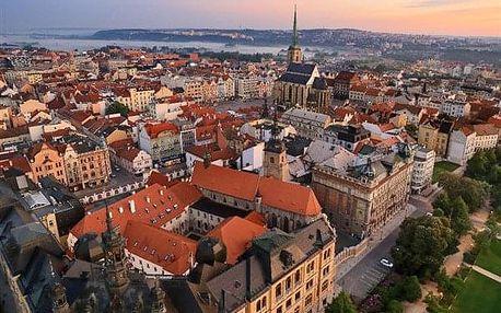 Plzeň na 2-4 dny, snídaně v ceně