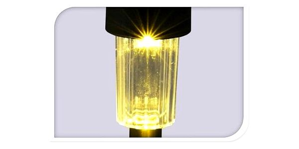 Sada solárních LED lamp 12 ks, teplá bílá2