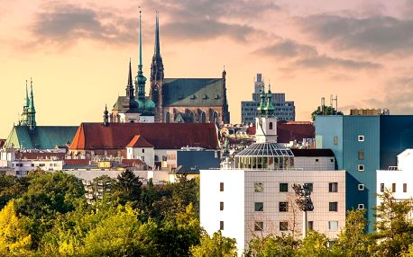 Pohodový pobyt v Brně se snídaní