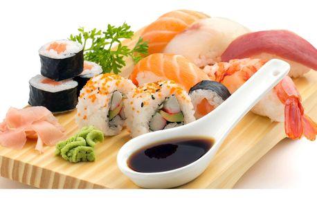 Vynikající sushi sety s rozvozem po Opavě zdarma