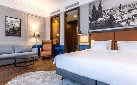 Moderní hotel v historické budově v centru Prahy