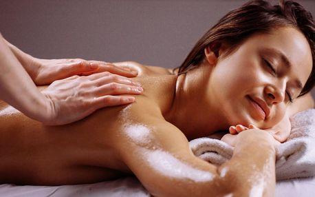 Celotělová hodinová masáž horkým olejem