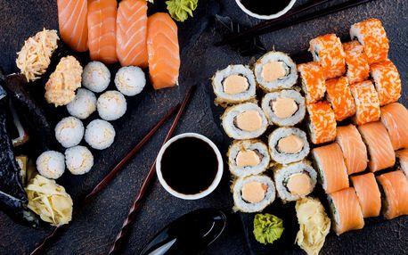 Vynikají sushi sety v restauraci Sony s možností jídla s sebou