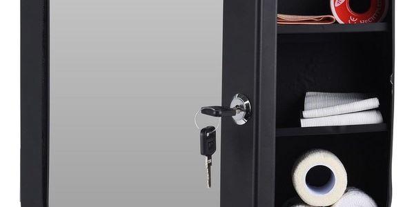 Lékárnička se zrcadlem, bílá2