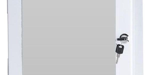 Lékárnička se zrcadlem, bílá
