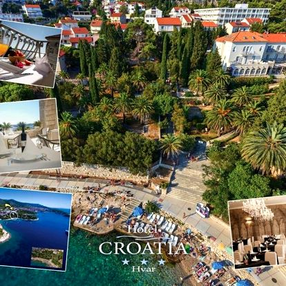 Chorvatsko, Hvar: Hotel Croatia