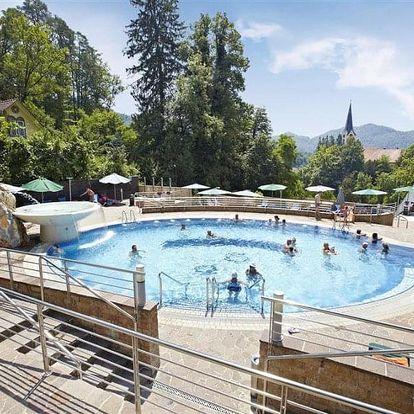 Slovinsko, Terme Dobrna, vlastní dopravou na 8 dní