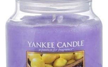 Yankee Candle Lemon Lavender 411 g vonná svíčka unisex