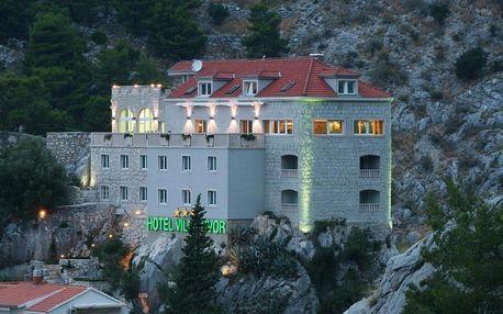 Chorvatsko, Omiš: Hotel Villa Dvor