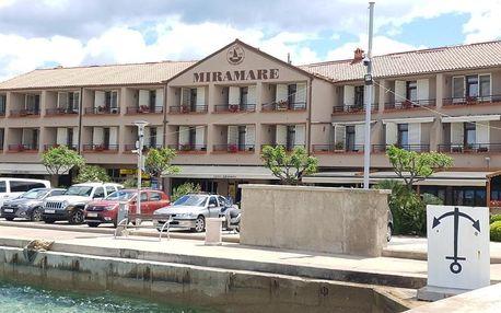 Chorvatsko, Krk: Hotel Miramare