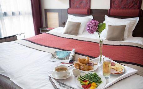 Wellness dovolená pro 2 se snídaní v Budapešti v Rubin Wellness & Conference Hotelu****