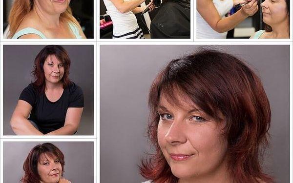 Nový střih pro krátké vlasy + profesionální líčení3