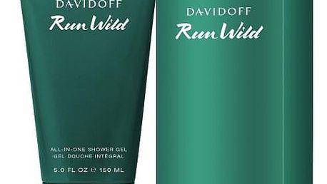 Davidoff Run Wild 150 ml parfemovaný sprchový gel pro muže