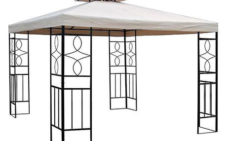 HAPPY GREEN Pavilon STEEL II, dvojitá střecha