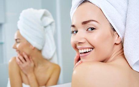 Komplexního kosmetické ošetření včetně masáže